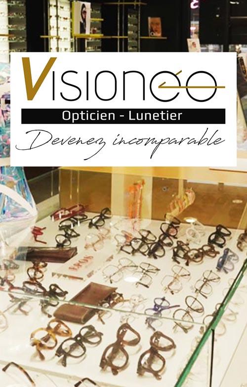 Visioneo opticien optométriste sur Agen